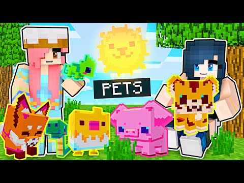 We ADOPT the CUTEST Pets in Minecraft!