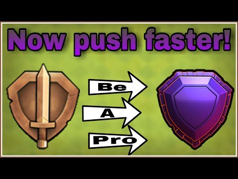 HOW TO EASILY PUSH 5000 TROPHIES LIKE A PRO AND BE A LEGEND | CLASH OF CLANS