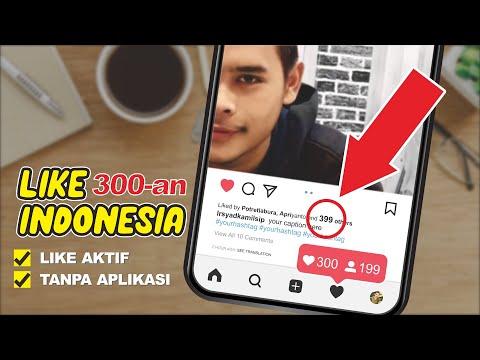 CARA MENAMBAH LIKE INSTAGRAM INDONESIA GRATIS