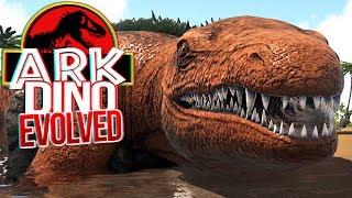 Download Video ARK Dino Evolved - O Terrível Mosassauro, Procurando Comida! | Dinossauros (#4) (PT-BR) MP3 3GP MP4