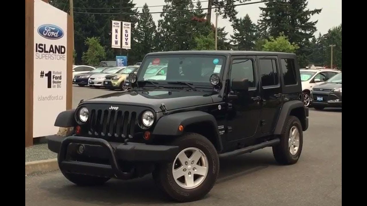2011 jeep wrangler unlimited sport unlimited soft top included review island ford youtube. Black Bedroom Furniture Sets. Home Design Ideas