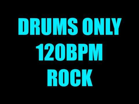 Drums Only 120BPM Metal Backing Track