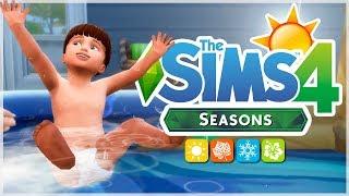REVIEW Comprar-Construir 🛒🏠 // Los Sims 4 Y LAS CUATRO ESTACIONES 🌈☀️🍂❄️