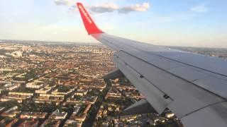 Short Landing at Berlin-Tegel Airport , Air Berlin D-AHXG B737…