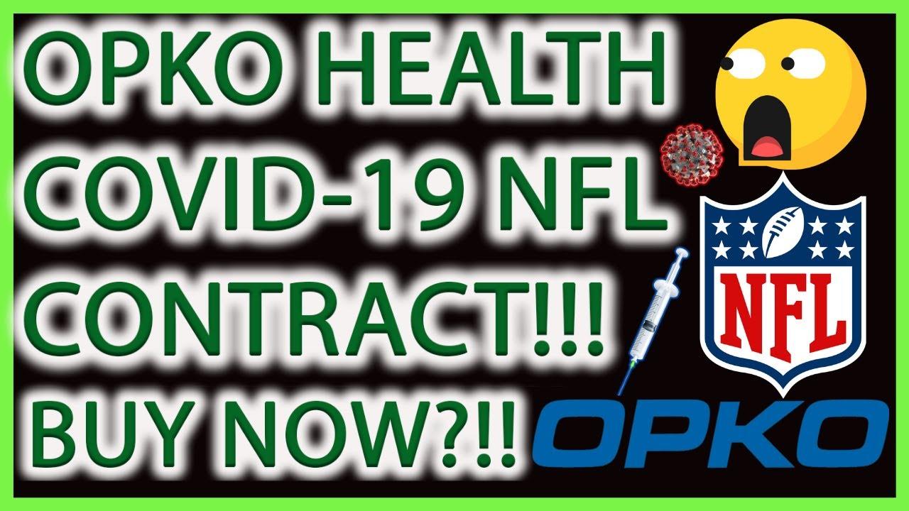 OPKO HEALTH STOCK COVID-19 NFL CONTRACT! BUY NOW?! OPKO ...