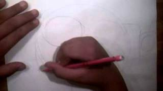How to draw a Chain chomp