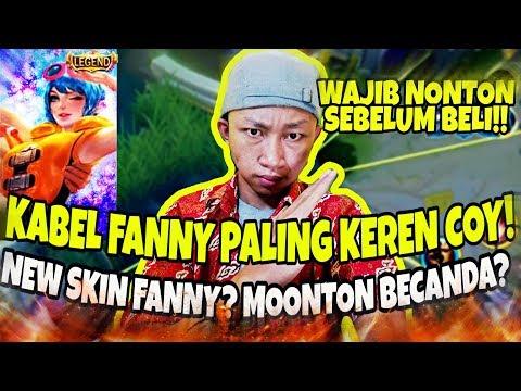 Review New SKIN FANNY LEGENDS!? Auto Beli Lah COOOYYYYYY!! Mobile Legends Bang Bang