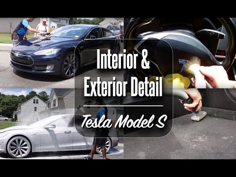 complete-interior-and-exterior-detail-/-tesla-model-s