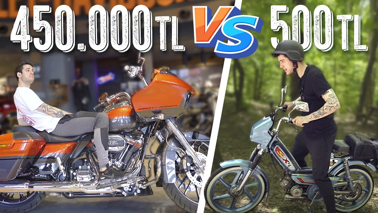 Download 500 TL Motosiklet vs. 450.000 TL Motosiklet! (#SonradanGörme)