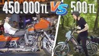 500 TL Motosiklet vs. 450.000 TL Motosiklet! (#SonradanGörme)