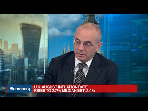 U.K. August Inflation Rate Unexpectedly Rises To 2.7%