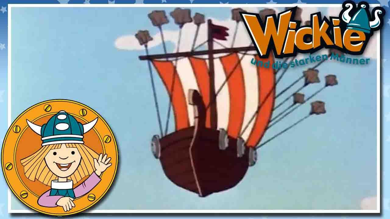 wickie und die starken m nner das fliegende schiff. Black Bedroom Furniture Sets. Home Design Ideas