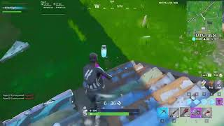 Live Fortnite play with the referee skin