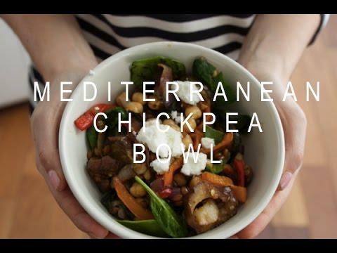 Balanced Bowls: Mediterranean Chickpea Bowl