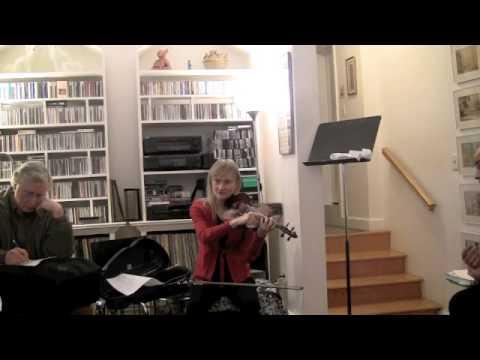 Dounis, left hand exercises; Janet Packer Part 3