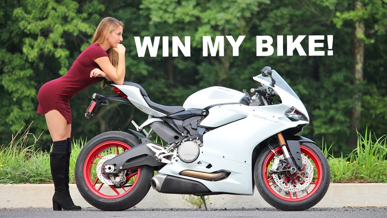 Bmw S1000rr Girl Wallpaper I M Giving Away My 959 Ducati Panigale Youtube