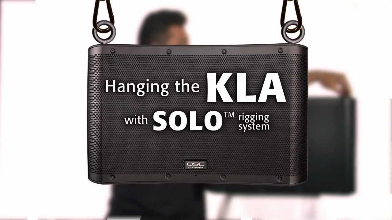 Kla Solo Rigging Line Array Rigging Made Easy