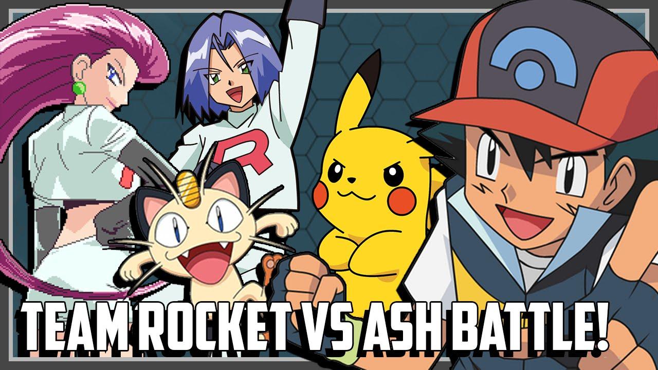 Pokemon Theme Battle - Ash vs Team Rocket Ft. Original151 ...