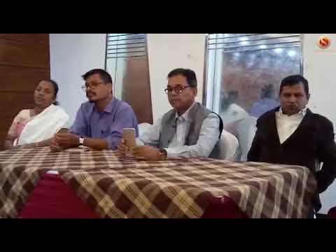 press meet of Paban Singh Ghatowar