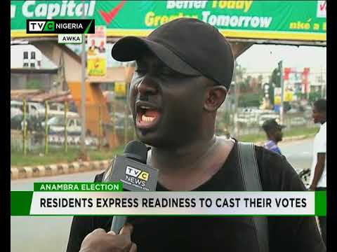 #AnambraVotes: Uche Okoro samples Anambra residents' readiness for Governorship Election