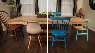 How to Mix and Match Dining Chairs