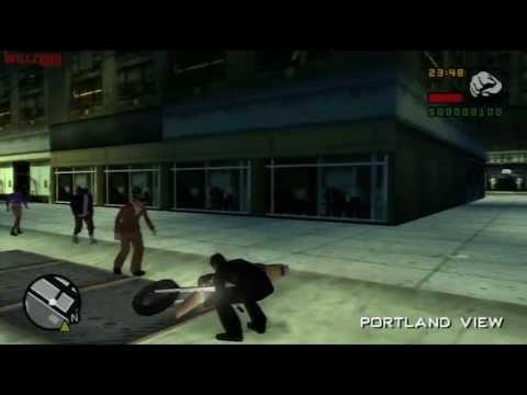 GTA: Liberty City Stories (PS2): Mission #2 - Slacker