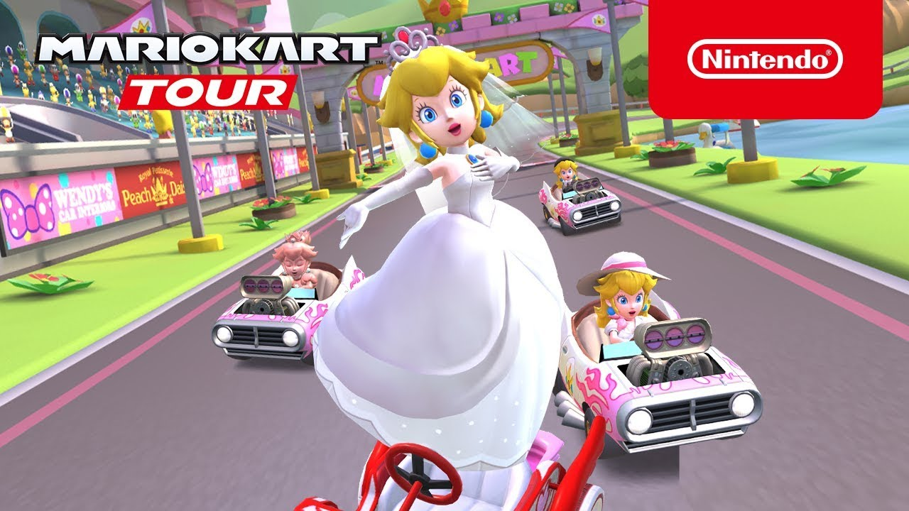 Peach Takes Center Stage In The Latest Mario Kart Tour Event