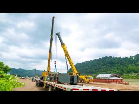 Natural Gas Surge Tank Vessel Dual Lift