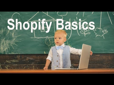 Shopify Tutorial for Beginners - The Basics of Shopify thumbnail