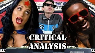 [Critical Analysis] Wonder Woman vs Stevie Wonder. Epic Rap Battles of History. w/Mat4yo!
