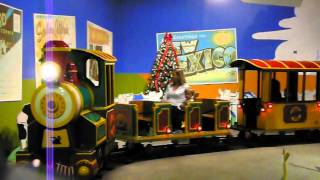 Indoor Train Ride at the Strong Museum of Play in Rochester, NY
