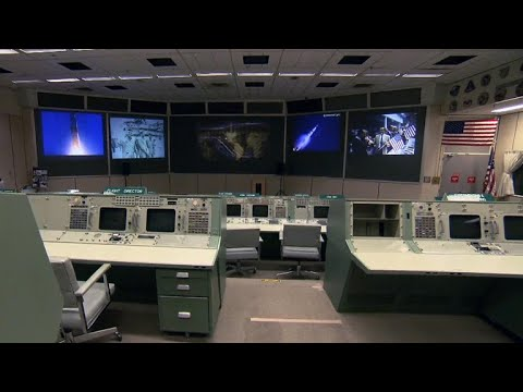 Restoring NASA's historic mission control center in Houston