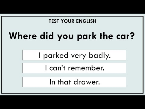 Take this quick test to find out your current level of English