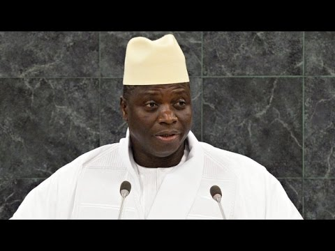 Gambian Dictator Threatens to Slit Gay People's Throats