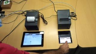 OpenERP / Odoo 8 printing from mobile devices directly to printers from POS module