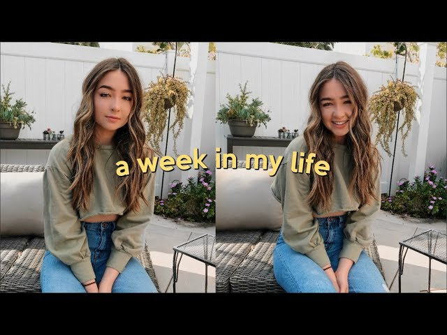 A WEEK IN MY LIFE AS A COLLEGE STUDENT