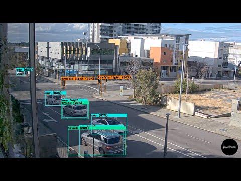 Perth Australia Live Webcam - With LIVE AI Recognition