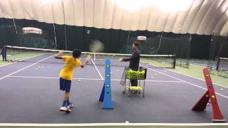 Tennisheights Inside-out Swinging Volley Indoor