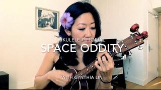 Space Oddity // Ukulele Tutorial - rock and roll music ukulele