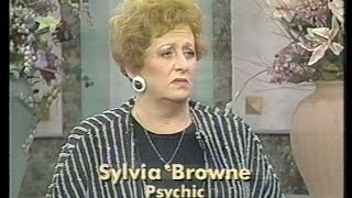 "Psychic Sylvia Browne on ""People Are Talking"" April 22, 1991"