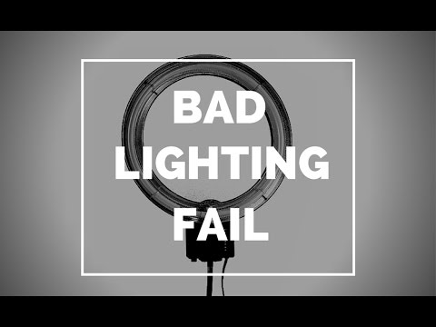 THE WORST RING LIGHT EVER PRO MAKEUP VIDEO REVIEW  Mathias4makeup