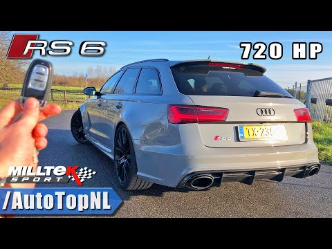 720HP AUDI RS6 PERFORMANCE | REVIEW POV On AUTOBAHN (NO SPEED LIMIT) By AutoTopNL