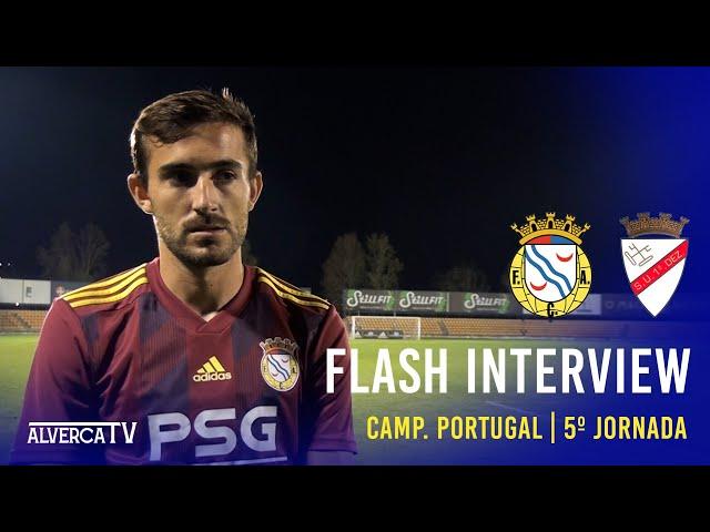 FC Alverca 5-1 1ºDezembro - Flash Interview