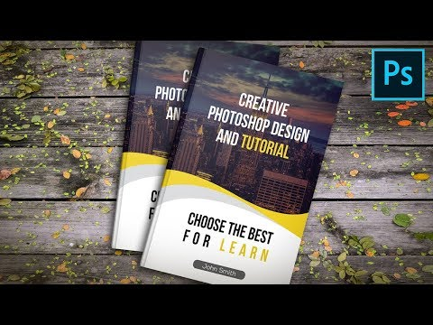 How to Make a Book Cover Design in Photoshop, Photoshop Tutorial thumbnail