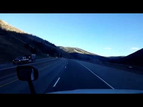BigRigTravels LIVE! Interstate 70 Eastbound west of Vail, Colorado