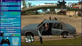 GTA San Andreas Any% Speedrun - Hugo_One Twitch Stream - 8/22/2018