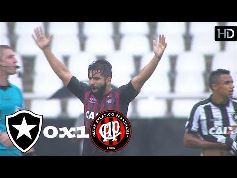 Botafogo 0 X 1 Atlético-PR (HD) Gols, Melhores Momentos ( 11/11/2017)