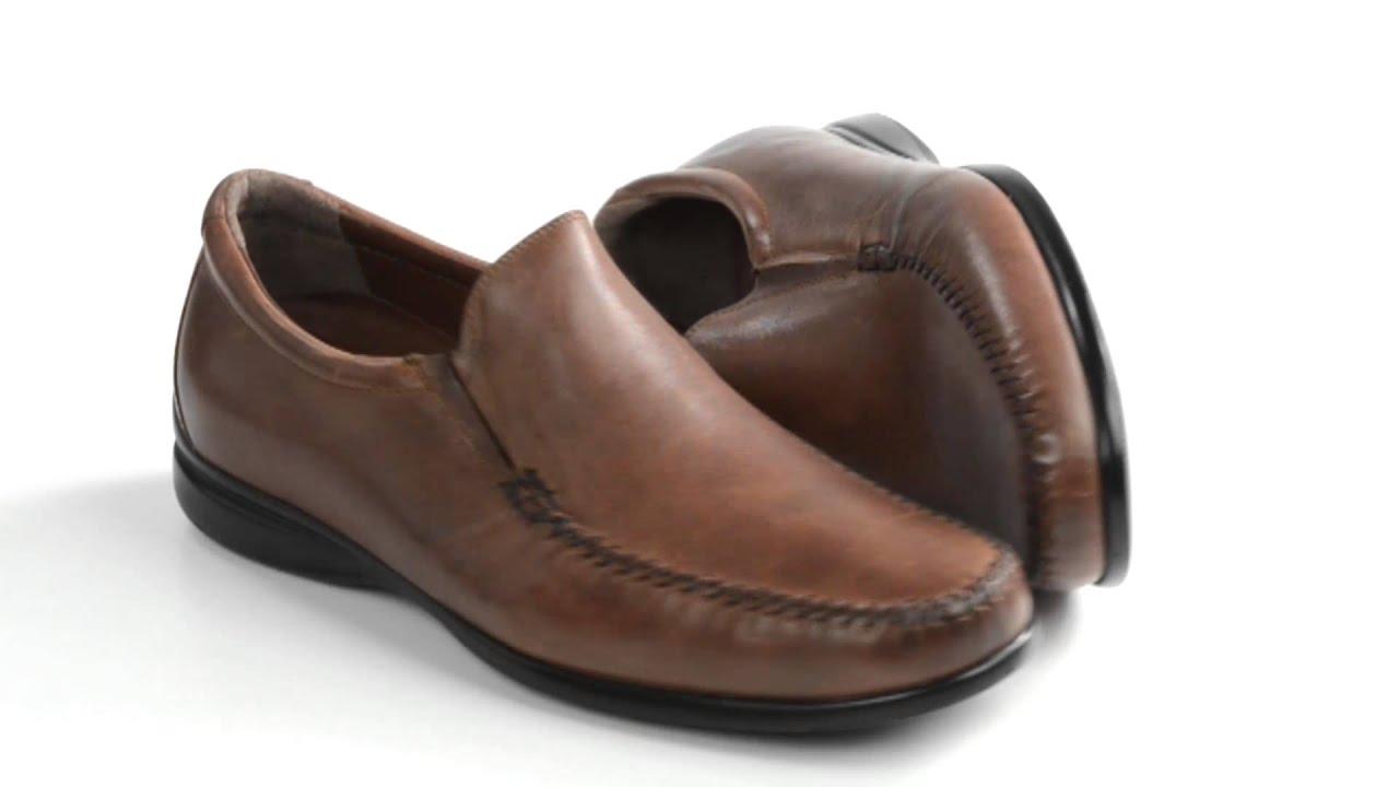 Leather, Slip-Ons (For Men)