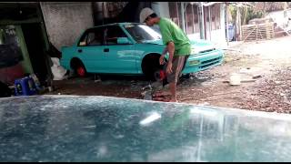 Restorasi Civic lx RHCC lumajang....!!by Cak gopung