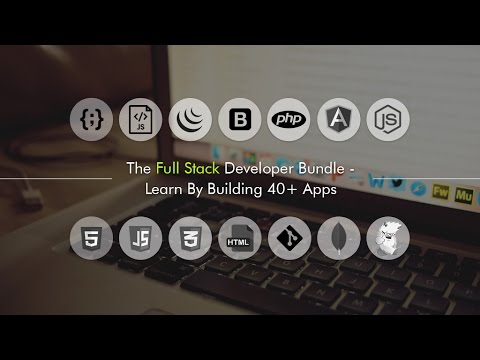 The Full Stack Developer Bundle - Learn By Building 40+ Apps